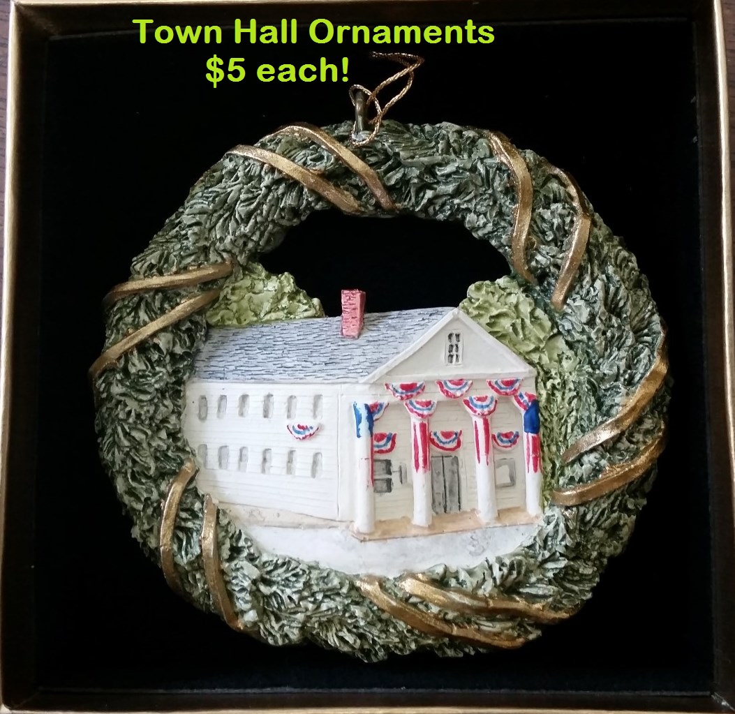 325th Town Hall Ornaments - $5ea
